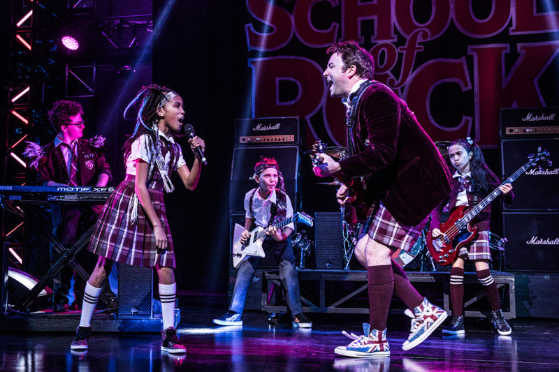 School of Rock Tour.