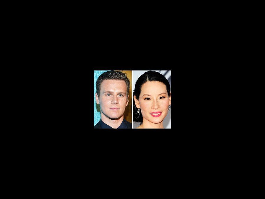 Jonathan Groff - Lucy Liu - square - 3/14