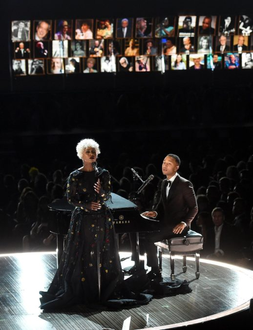 HS - Cynthia Erivo - John Legend - 2/17 - Kevin Winter/Getty Images