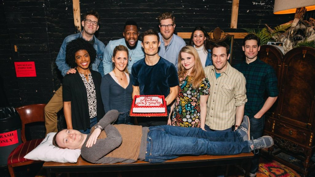 HS - The Play That Goes Wrong - First Broadway Anniversary - 3/18 - Emilio Madrid-Kuser