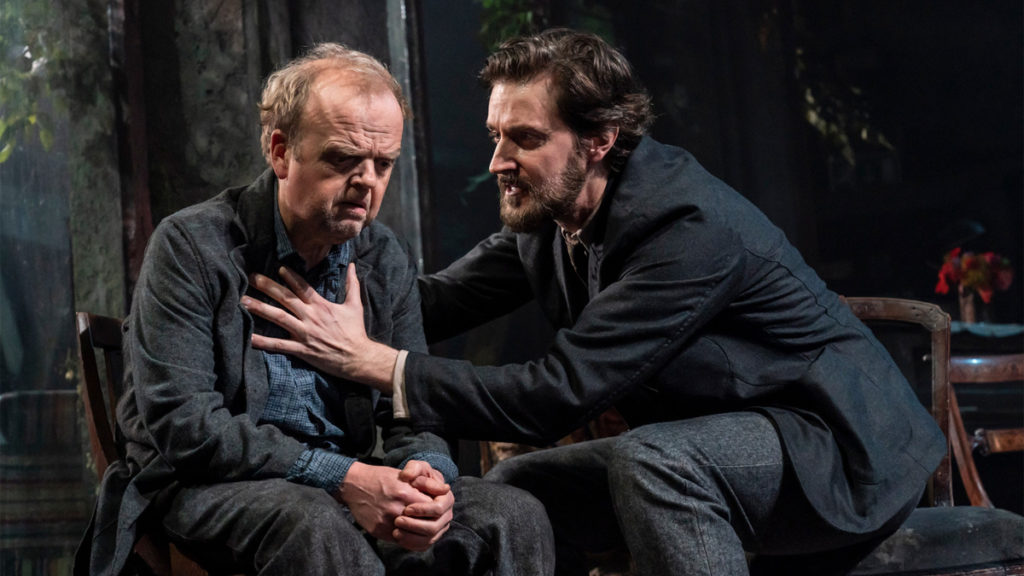 Uncle Vanya - Toby Jones - Richard Armitage - Photo:  Johan Persson