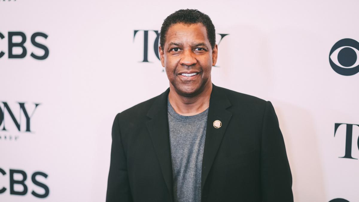 Meet the Nominees - Denzel Washington - Tony Awards - Press Junket - 5/18 - Emilio Madrid-Kuser