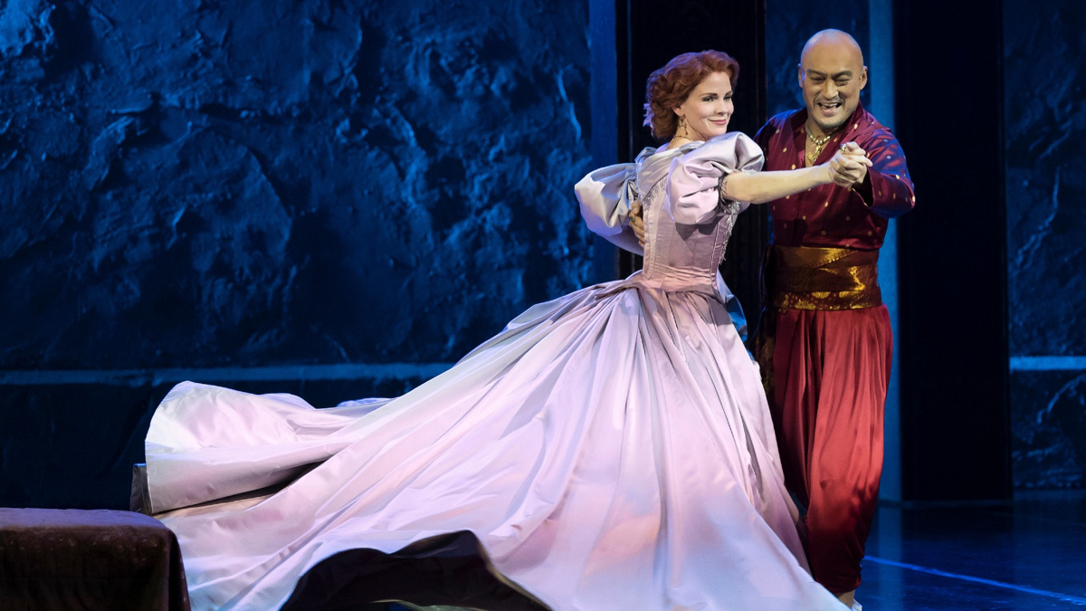Kelli O'Hara - Ken Watanabe - The King & I - 2/21 - Paul Kolnik